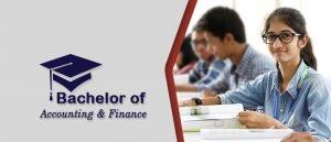 Bachelor of Accounting & Finance
